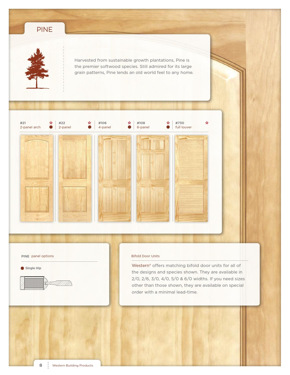 Western Interior Door Brochure By Western Building Products Page 8 Issuu