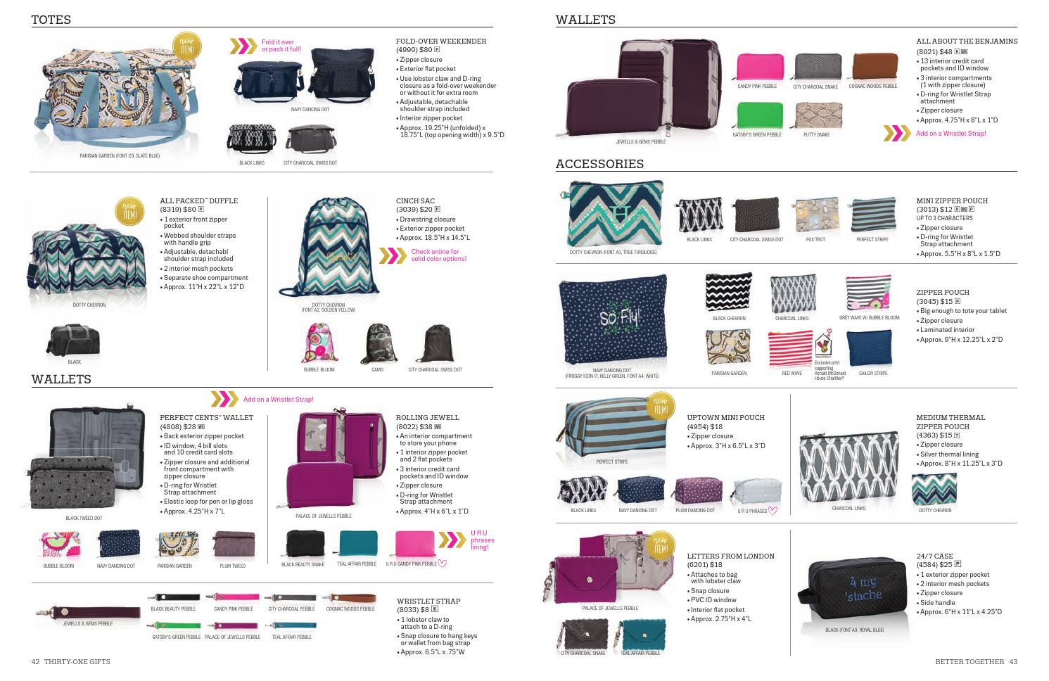 Thirty One Gifts Fall Winter 2015 Catalog By Sarah Post Krug Issuu