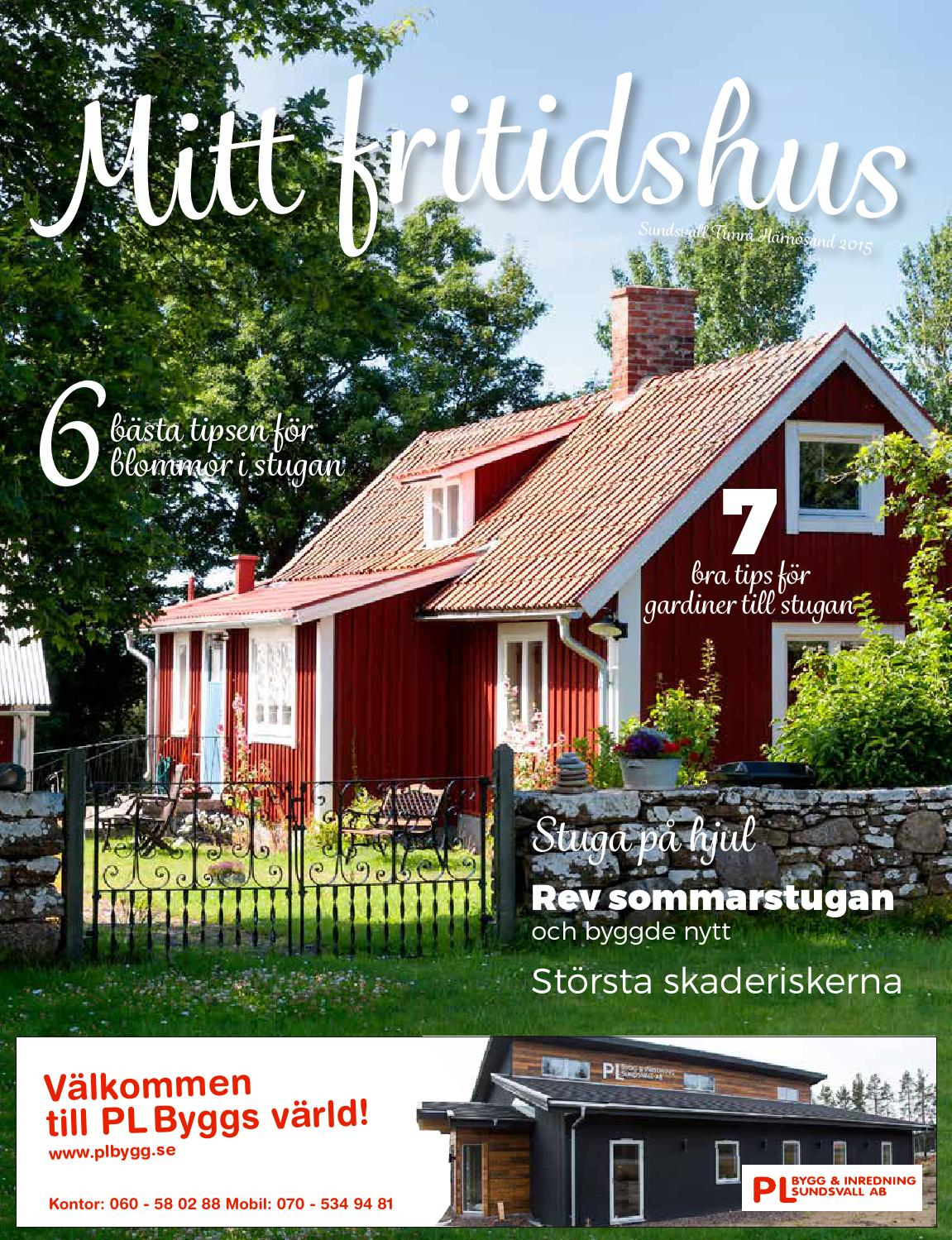 Mitt fritidshus 2015 by lotta kempe   issuu