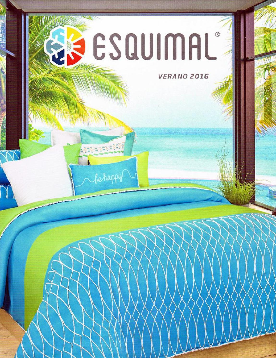 Catalogo esquimal linea primavera 2016 by www - Colchas y edredones ...