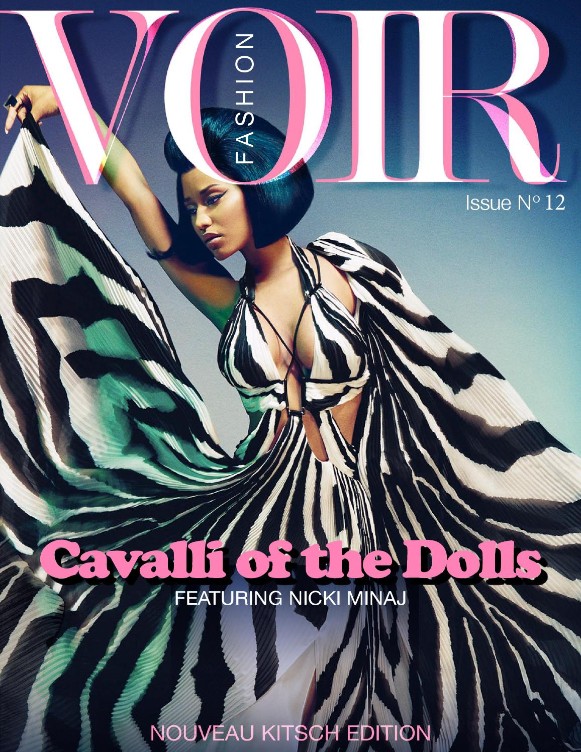 Voir Fashion Issue 12 Cavalli Of The Dolls By Voir Fashion Magazine Issuu