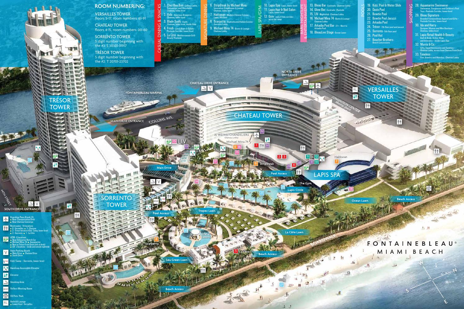 Property Map by Fontainebleau Miami Beach - issuu
