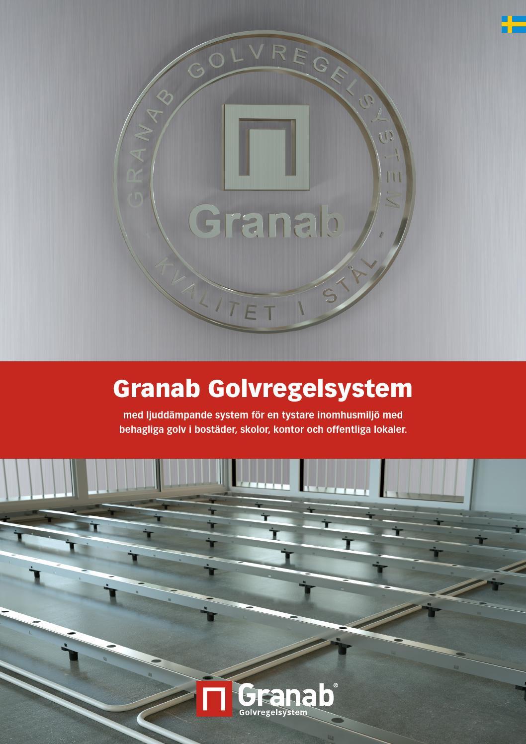 Granab golvregelsystem by bygg  och miljöteknik granab ab   issuu