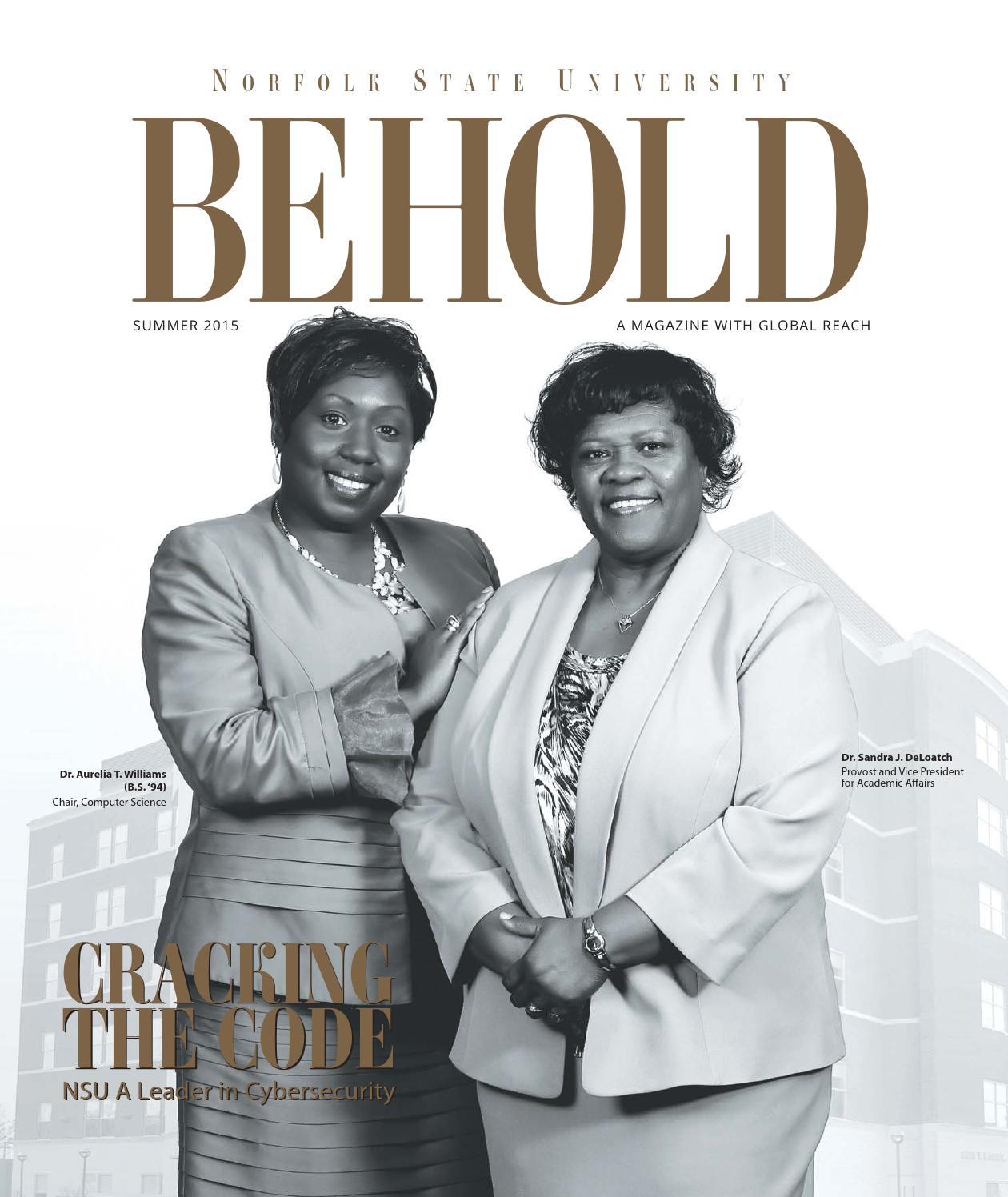 Behold Magazine Summer 2015 By Norfolk State University