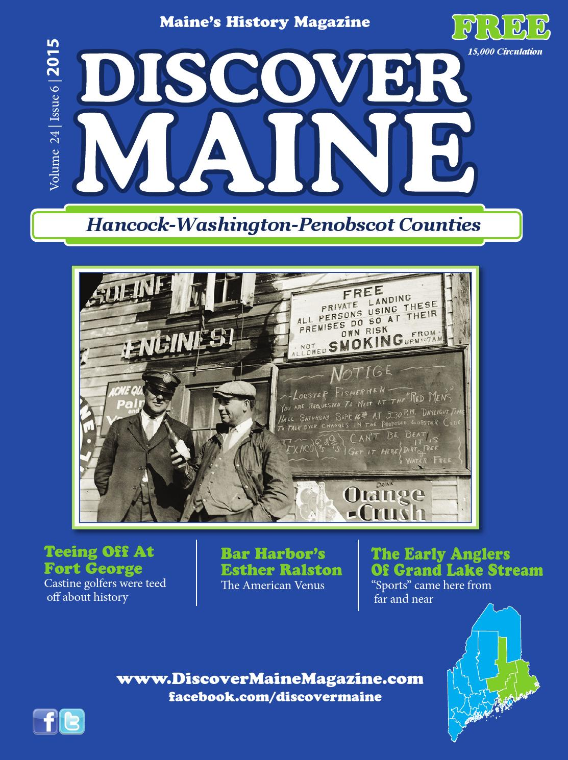 androscoggin oxford sebago by discover maine magazine issuu hancock washington penobscot counties