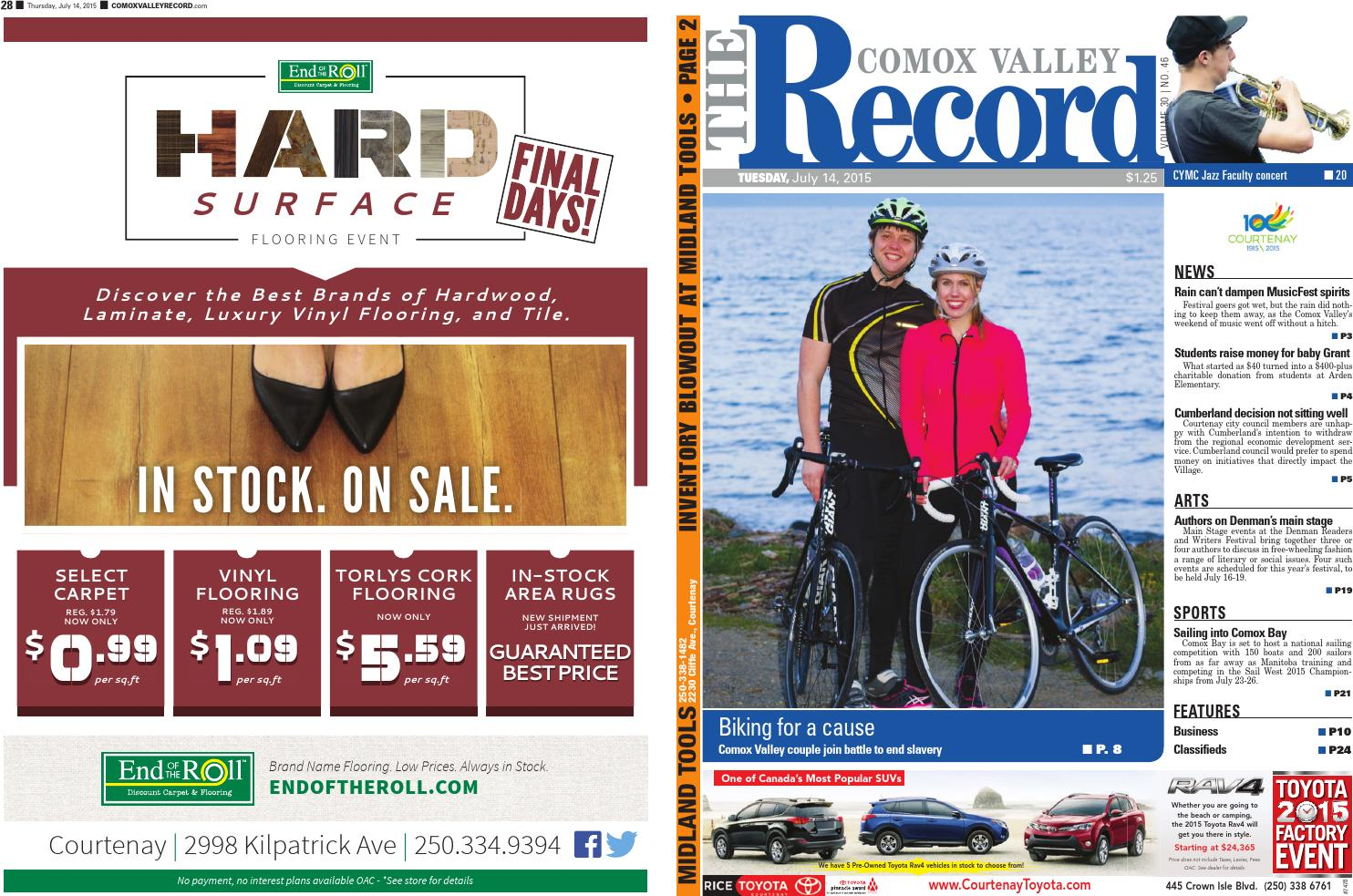 Comox Valley Record July 14 2015 By Black Press Issuu