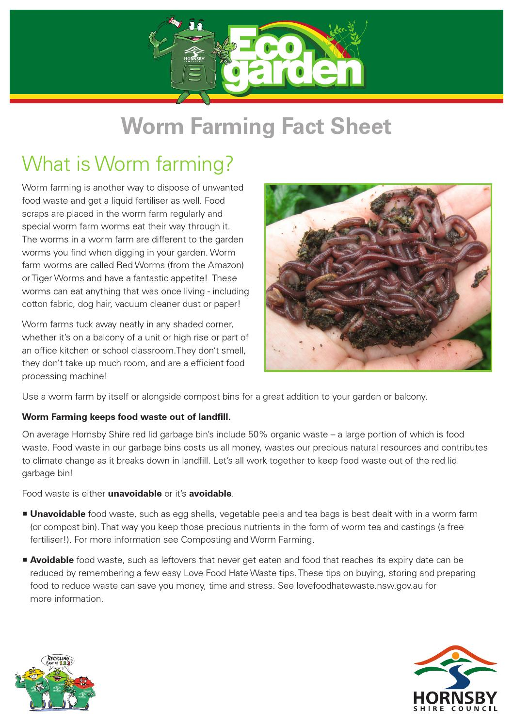 can o worms worm farm instructions