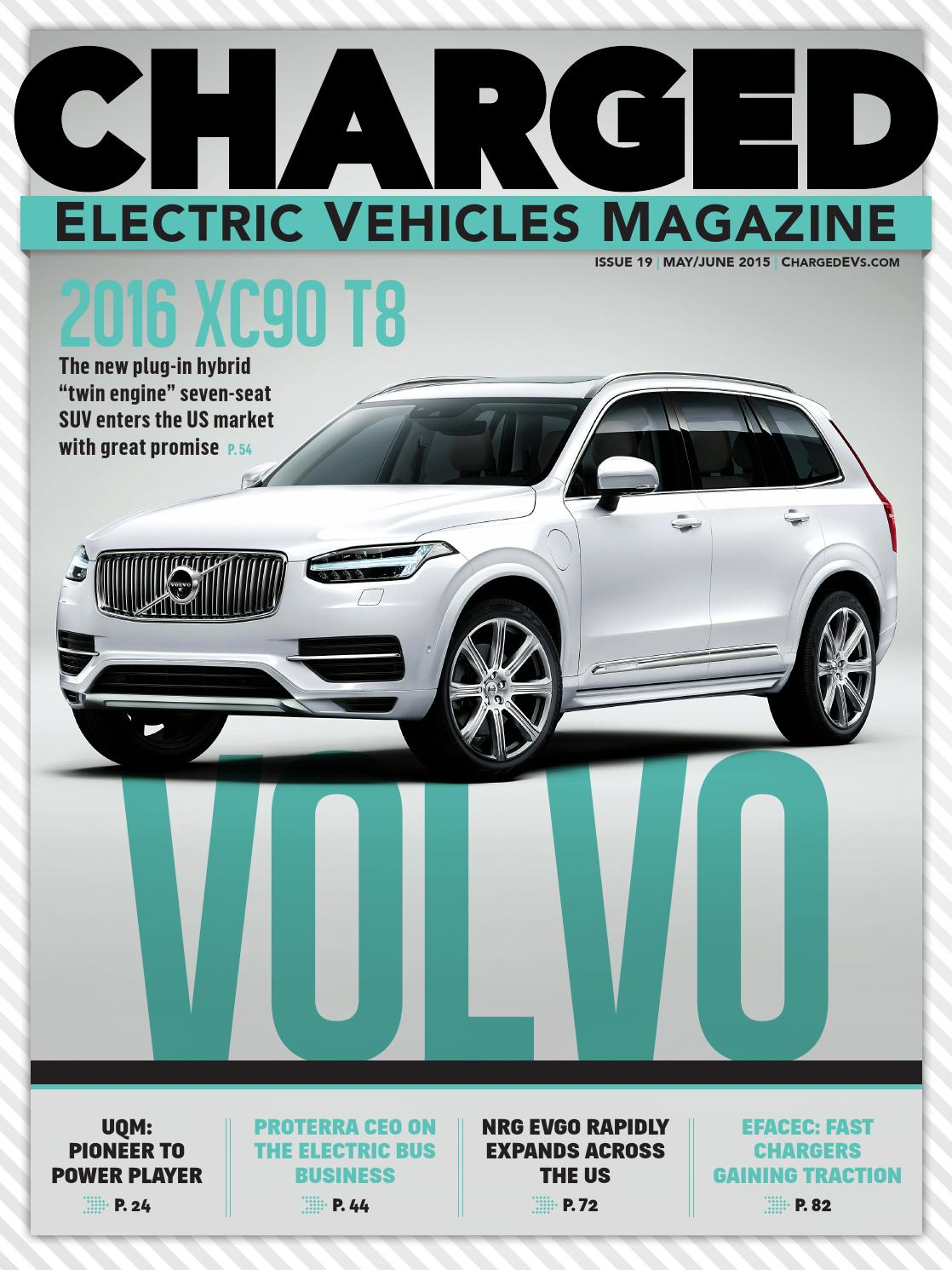 Charged Electric Vehicles Magazine Iss 19 May Jun 2015