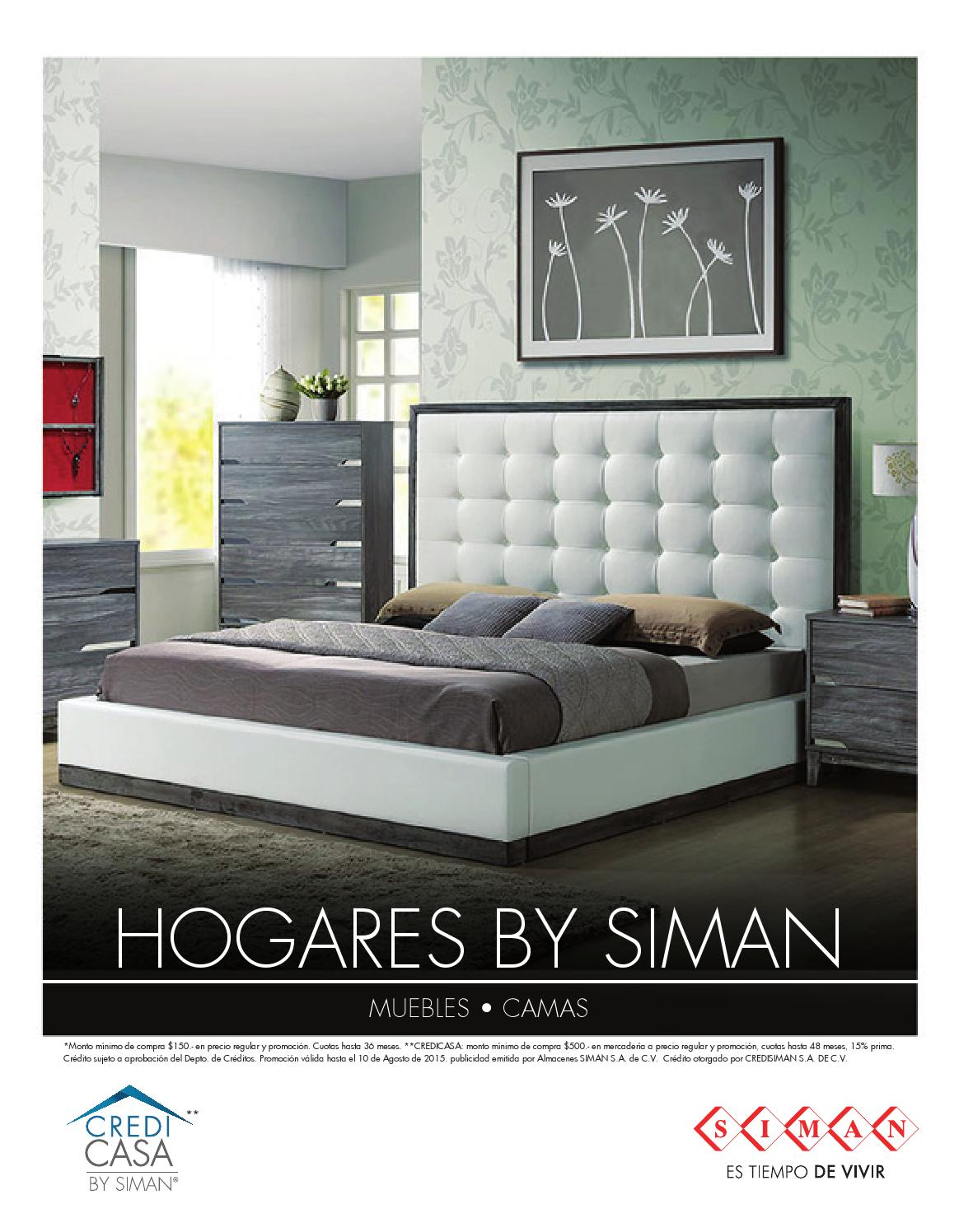 Revista Hogares By SIMAN  Muebles by Almacenes SIMAN  issuu