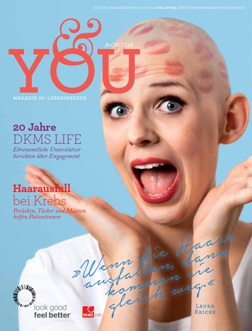 DKMS LIFE Magazin &you 1/2015