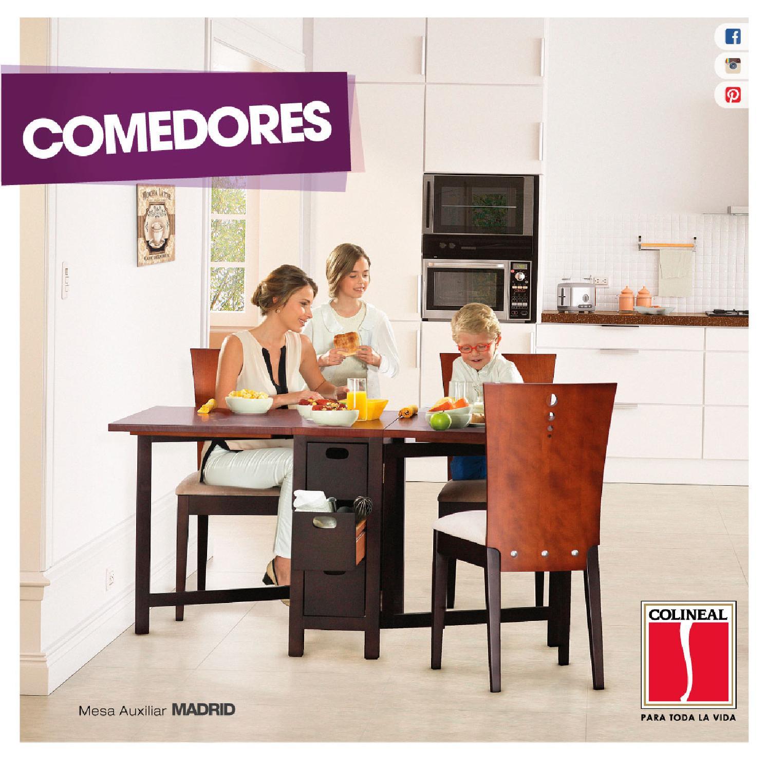 Cat logo de comedores panam by colineal issuu for Catalogo de comedores