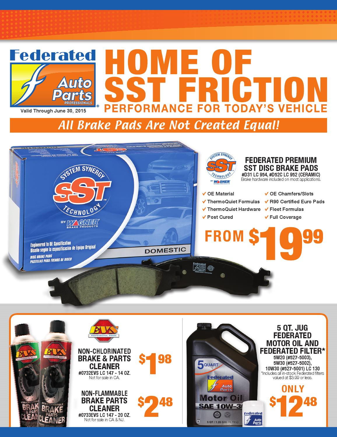Fisher Auto Parts May June 2015 Retail Flyer By Adsmith89