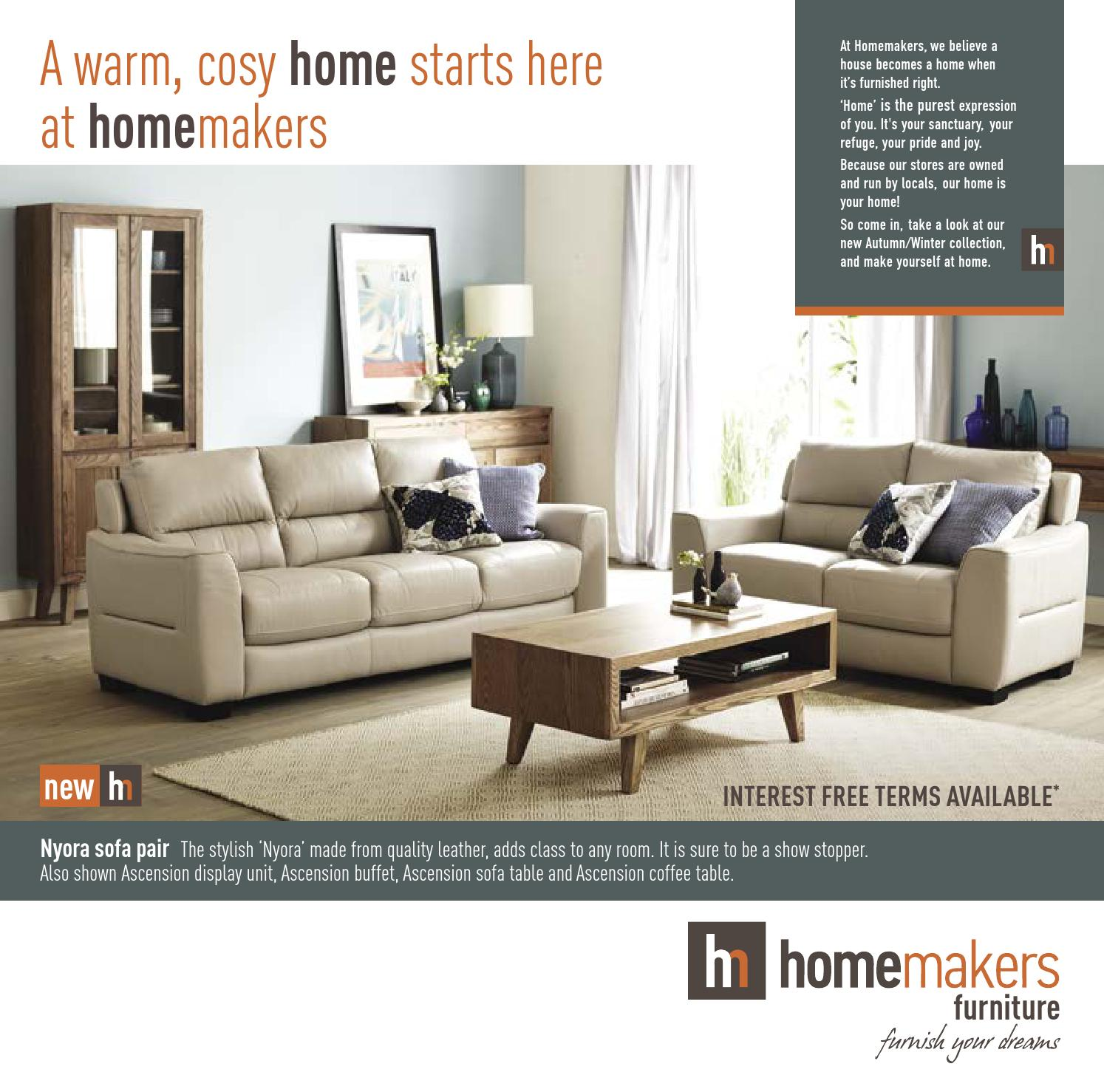 Homemakers Furniture Catalogue E04 15 By Homemakers Furniture Issuu