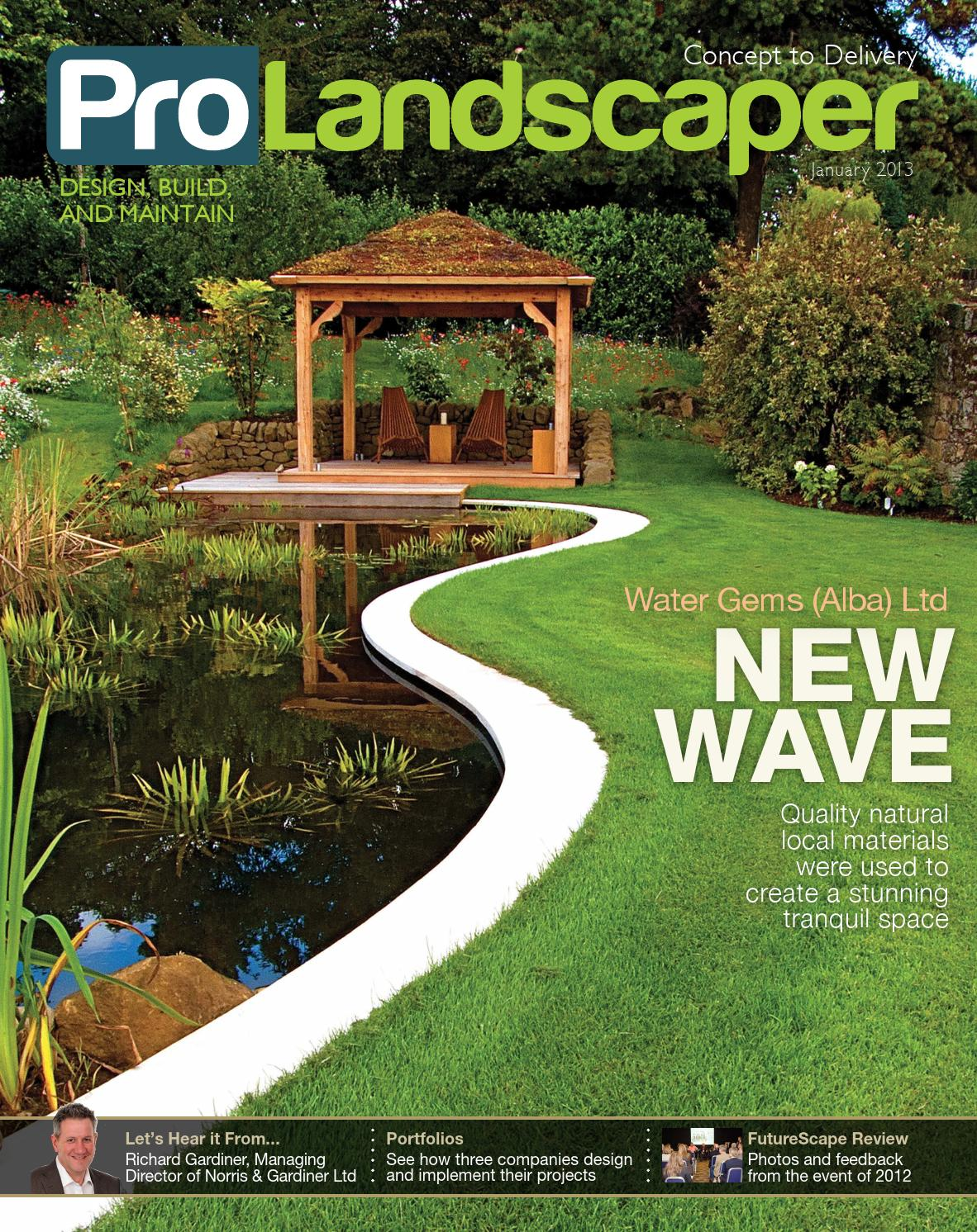 Pro Landscaper January 2013 By Eljays44 Issuu