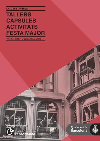 2015 Programa trimestral d\'activitats