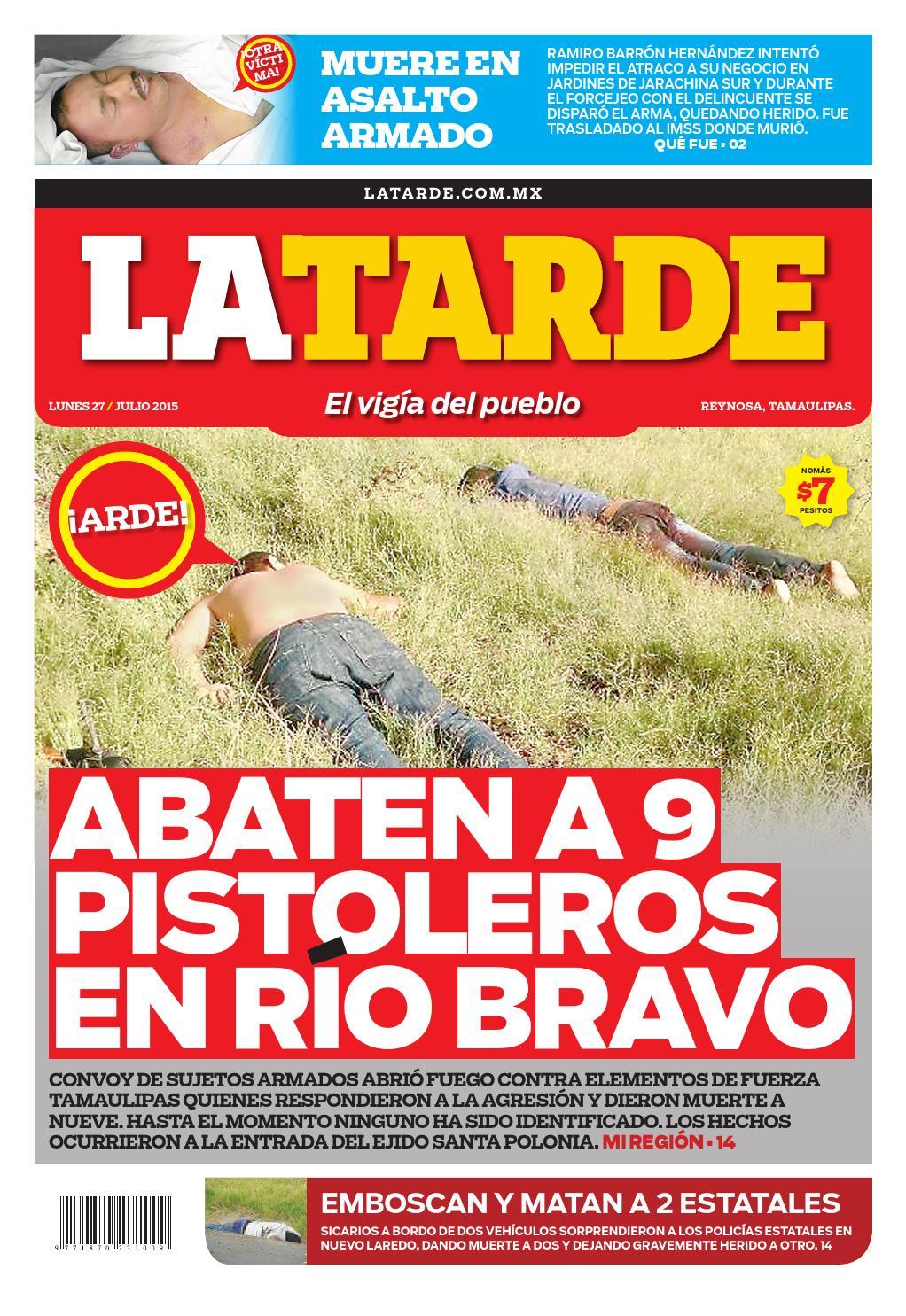 Lata20150727 by el ma ana reynosa issuu - Cuanto cuesta vallar un terreno ...