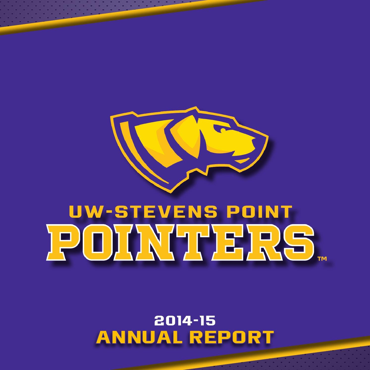 uw stevens point athletics annual report by uwsp athletics uw stevens point athletics annual report 2015 by uwsp athletics issuu