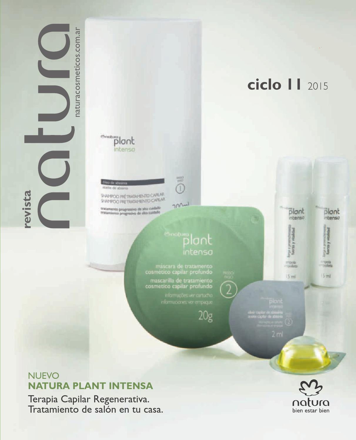 Cat logo natura ciclo 11 2015 argentina by natura cordoba - Natura home catalogo ...
