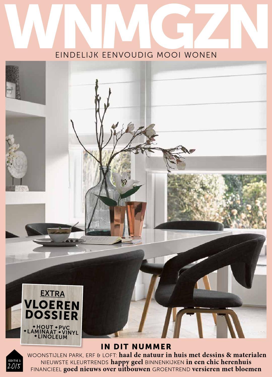 WNMGZN 01-2015 woonmagazine 't Binnenhuis Groningen by 't ...