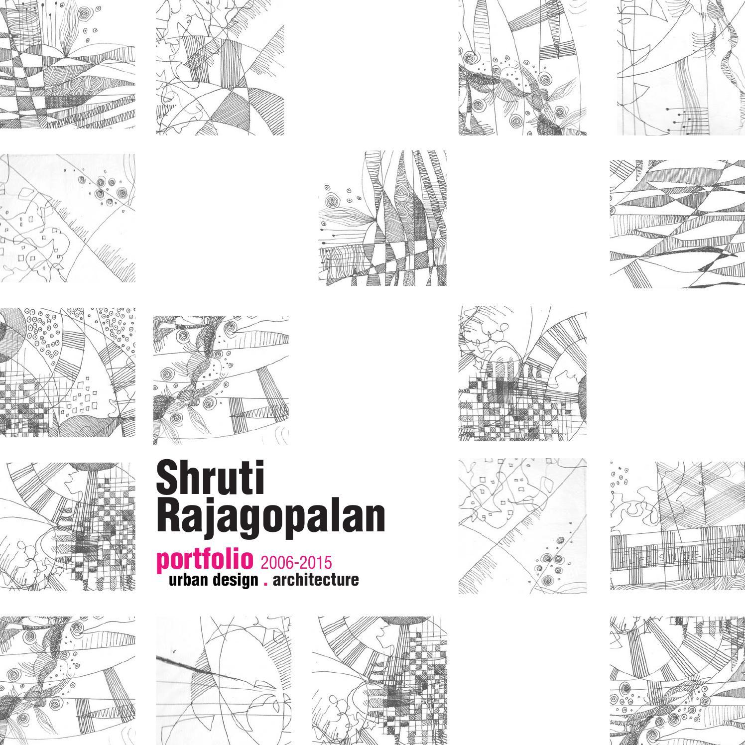 Urban Design + Architecture Portfolio