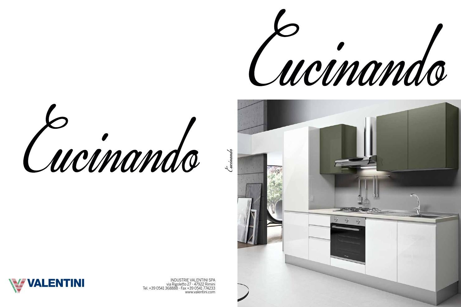 catalogo cucinando by industrie valentini s p a page 1