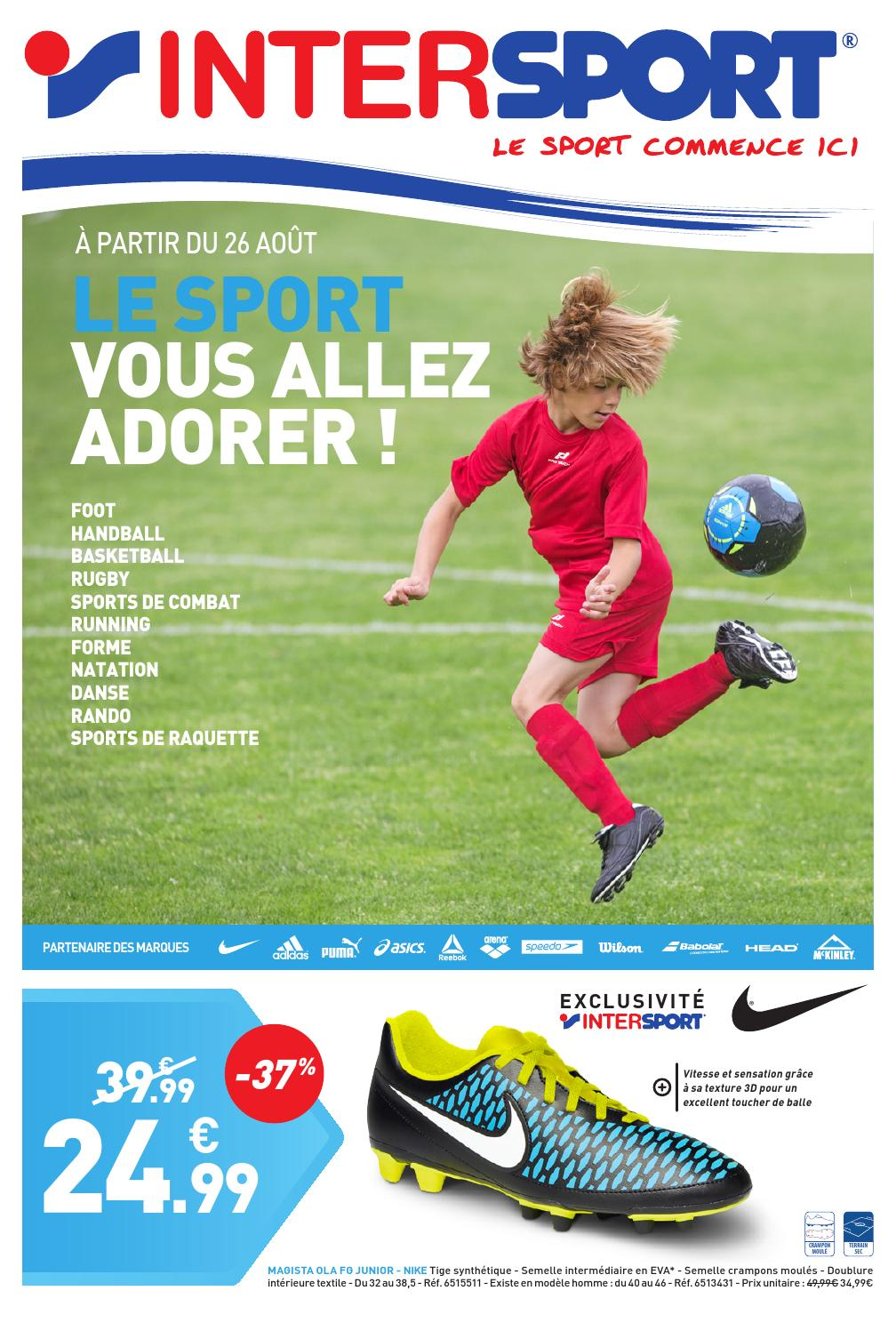 Intersport le sport vous allez adorer pages by