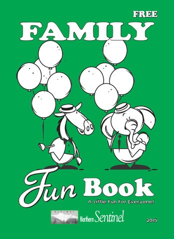Family Fun Book 2015