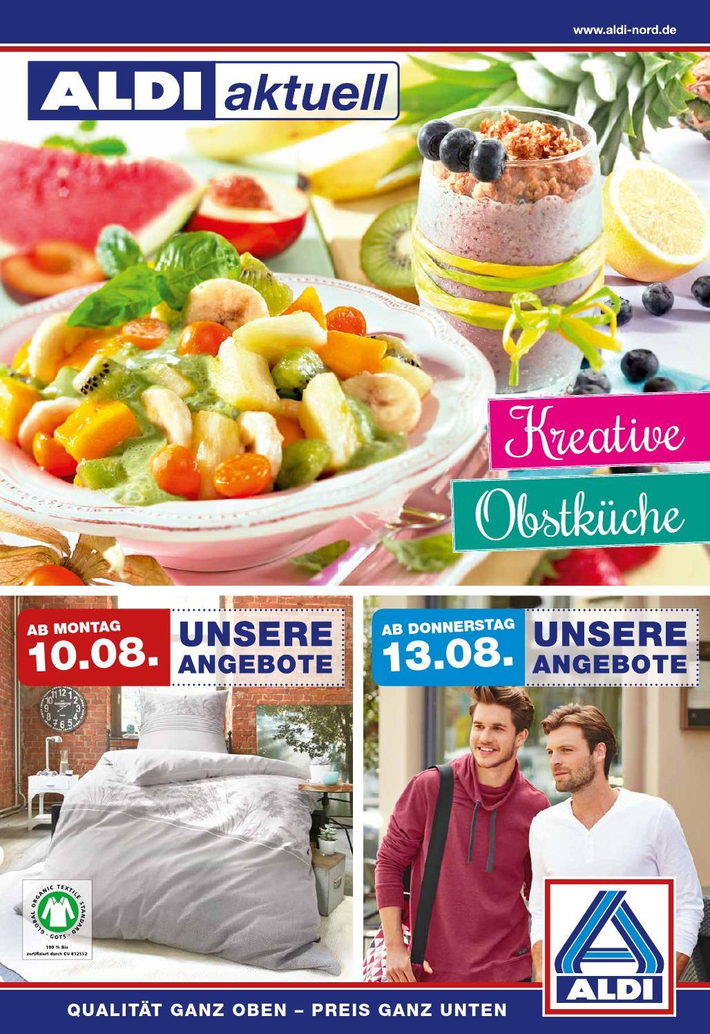 Aldi nord prospekt angebote ab kw33 by for Aldi international cuisine