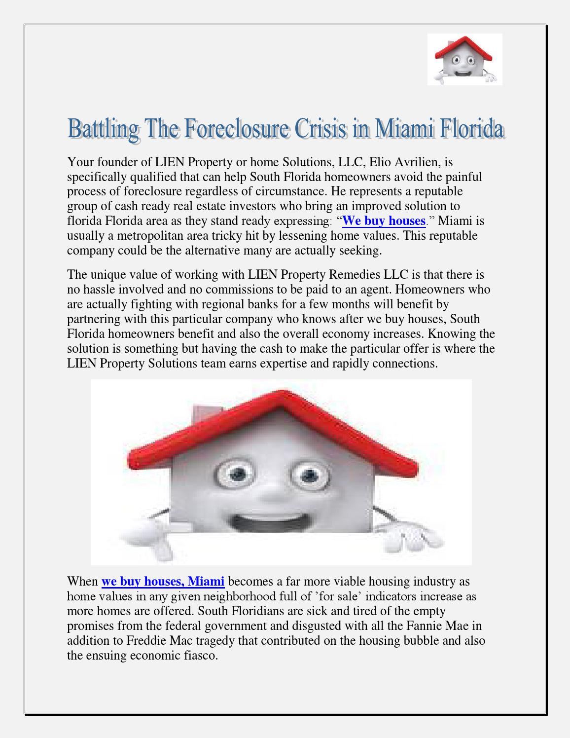 proposed solution to the foreclosure crisis essay How democrats seeded the 2008 financial crisis financial crisis so i've proposed that the federal in additional foreclosure exposure if the.