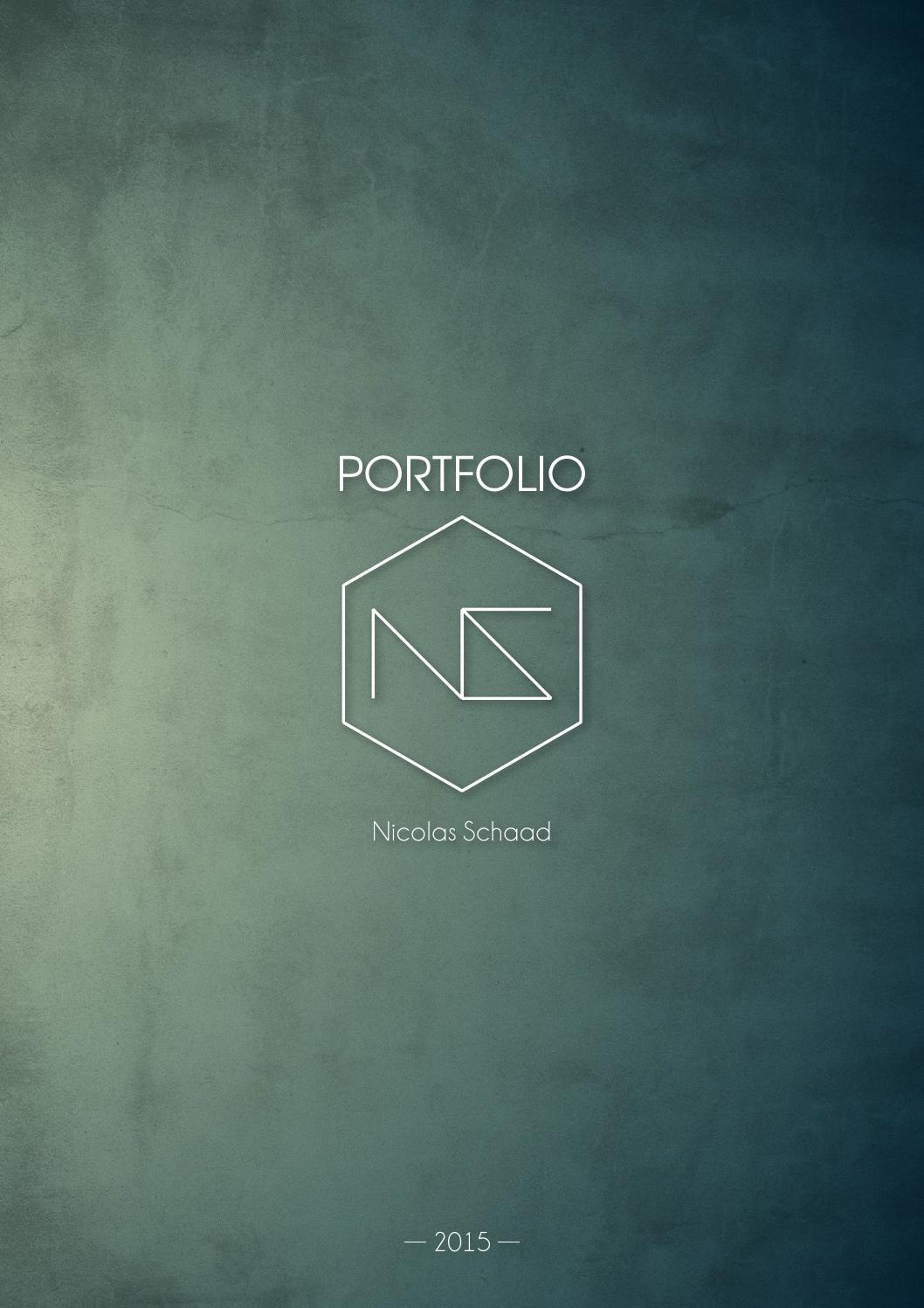 nicolas schaad portfolio 2014 2015 by nicolas schaad