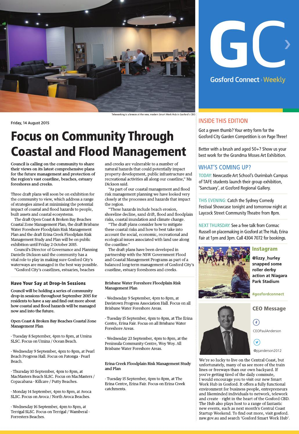 Gosford Connect 14 August 2015 By Central Coast Council Issuu