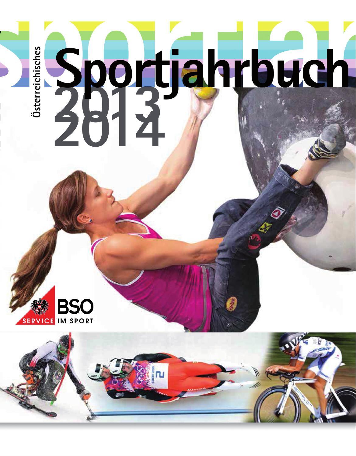 bso sportjahrbuch 2013 14 by bundes sportorganisation   issuu