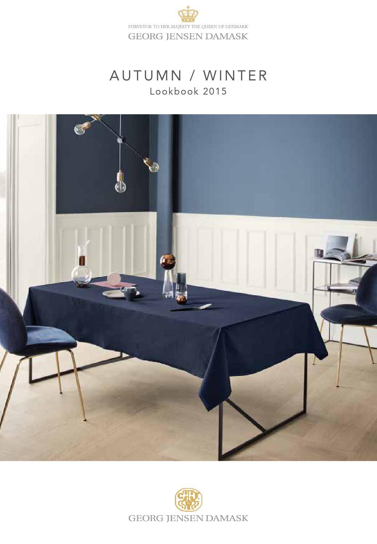 georg jensen damask lookbook aw 2015 by georg jensen. Black Bedroom Furniture Sets. Home Design Ideas
