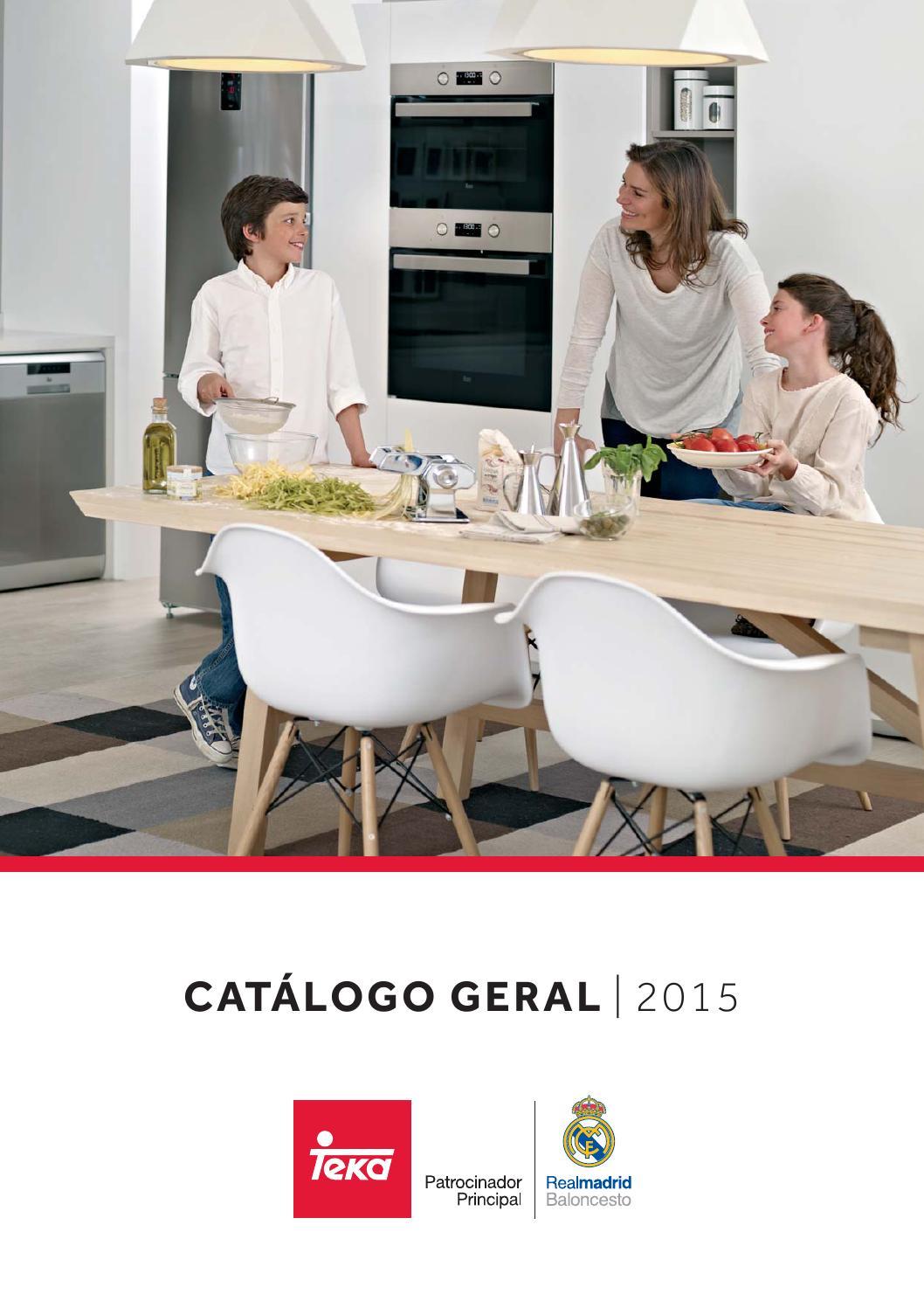 Cat logo teka 2015 by teka portugal issuu - Catalogo de teka ...