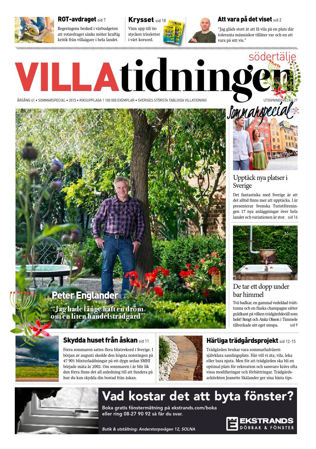 Södertälje Sommarspecial by Villatidningen - issuu