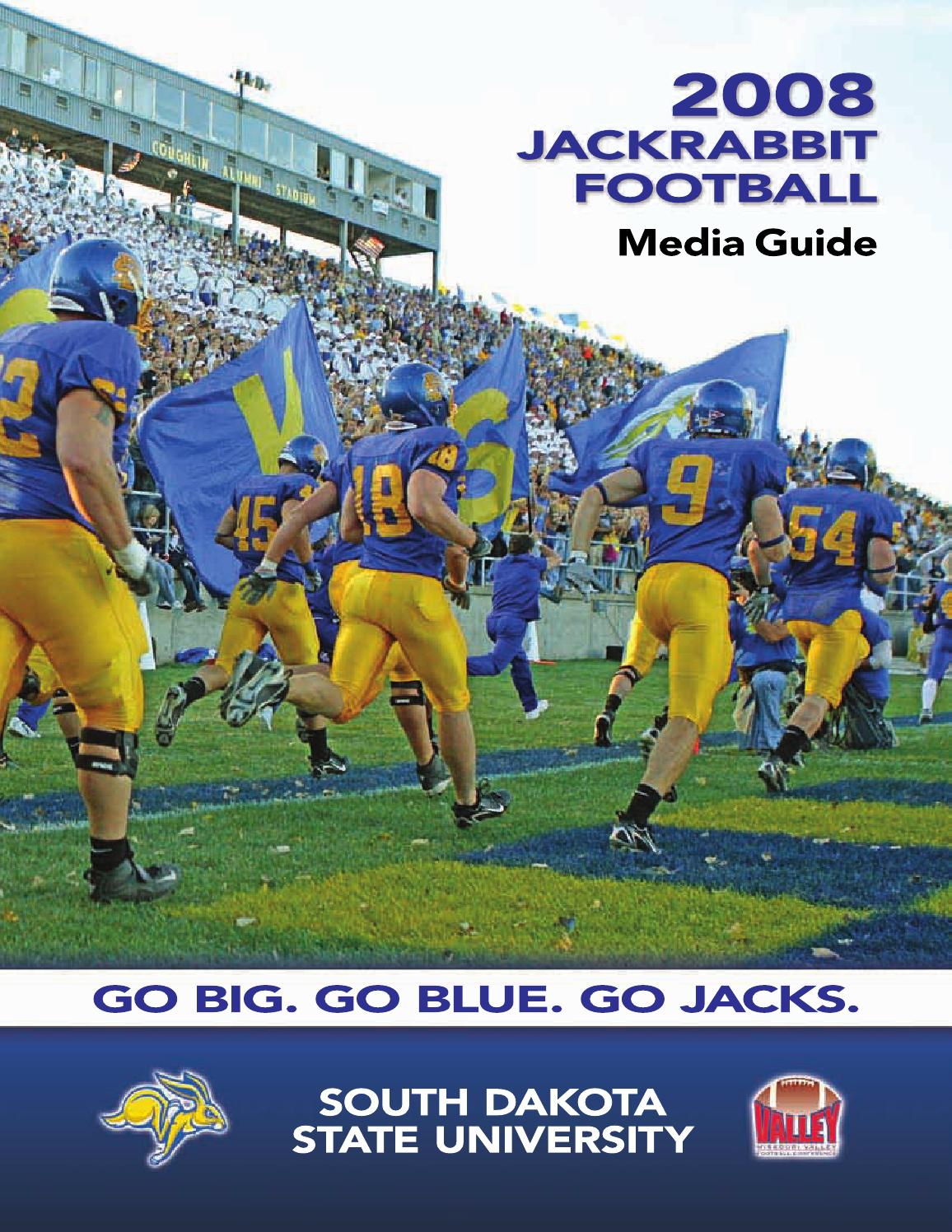 fb media guide 2005 by south dakota state university athletics issuu