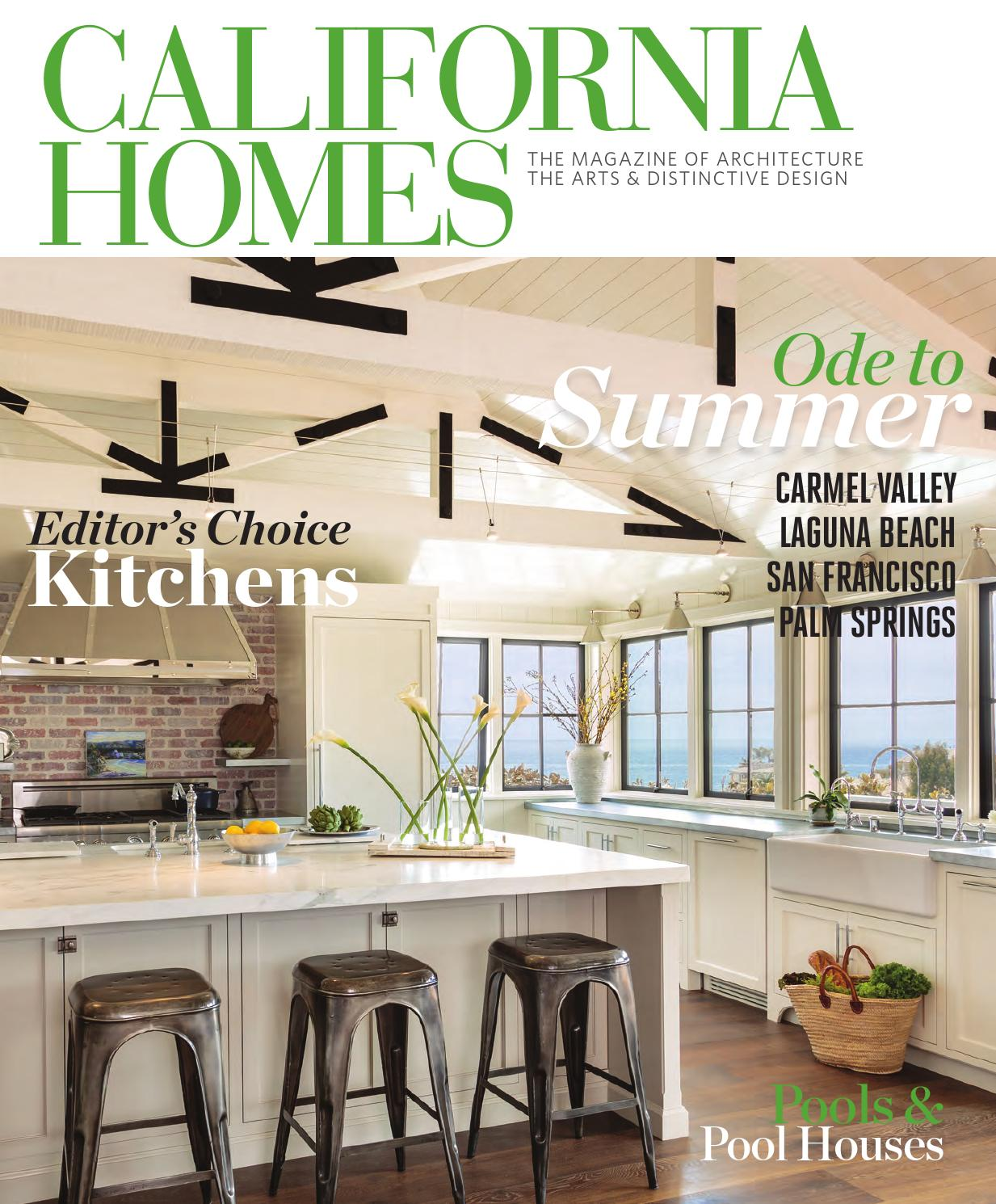 California homes summer 2015 by california homes for Home builders magazine