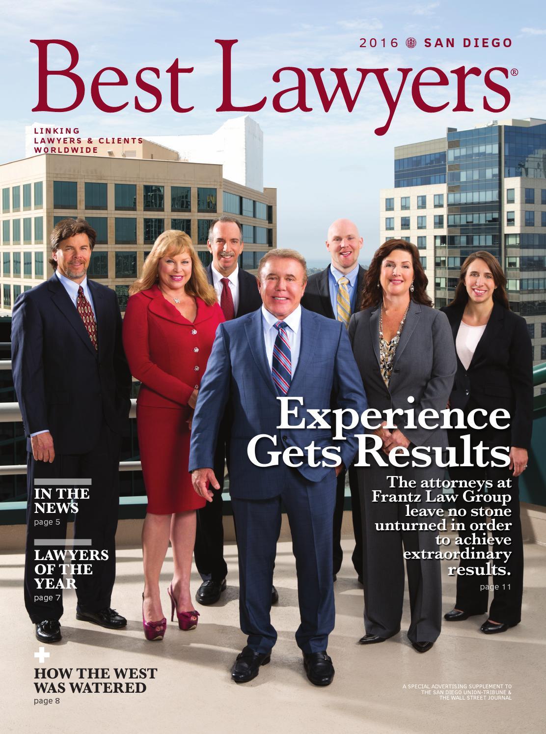 Best Lawyers In San Diego 2016 By Best Lawyers Issuu