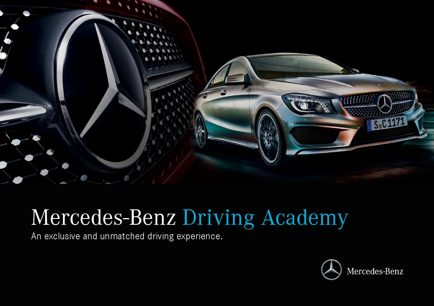 mercedes benz driving academy by mercedes benz canada issuu. Cars Review. Best American Auto & Cars Review