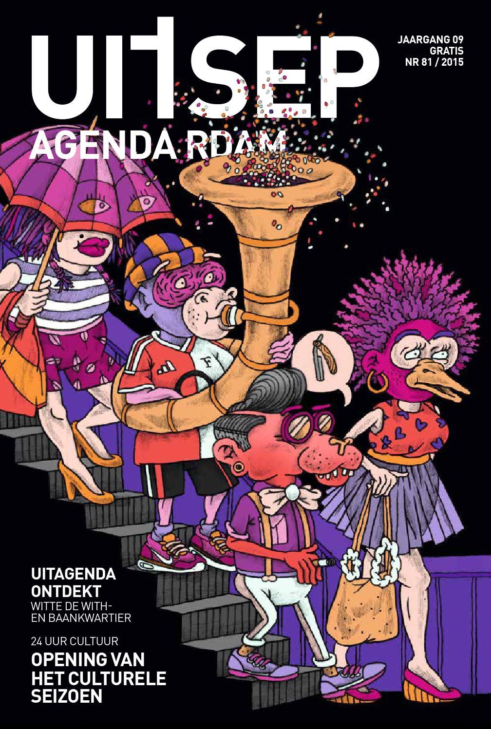 Uitagenda magazine september 2015 by rotterdam festivals for Uit agenda rotterdam