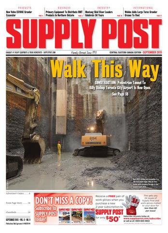 Supply Post Eastern Cover - September 2015