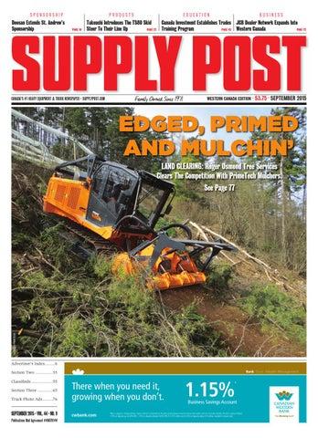 Supply Post Western Cover - September 2015