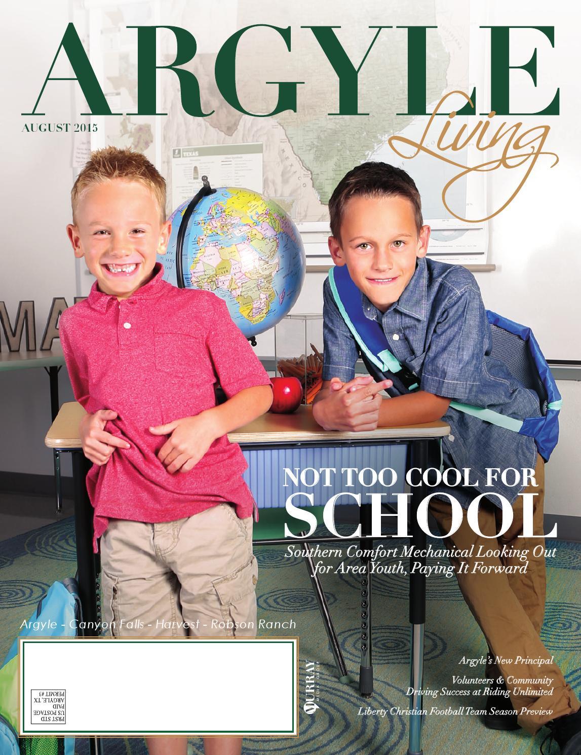 Argyle Living Magazine August 15 By Murray Media
