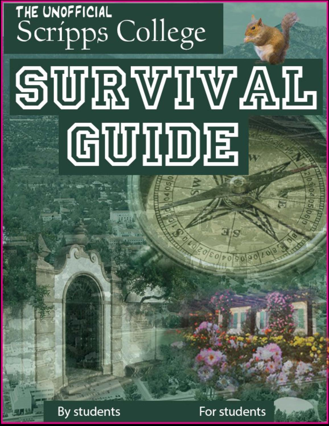 the unofficial scripps college survival guide by the scripps voice the unofficial scripps college survival guide by the scripps voice issuu