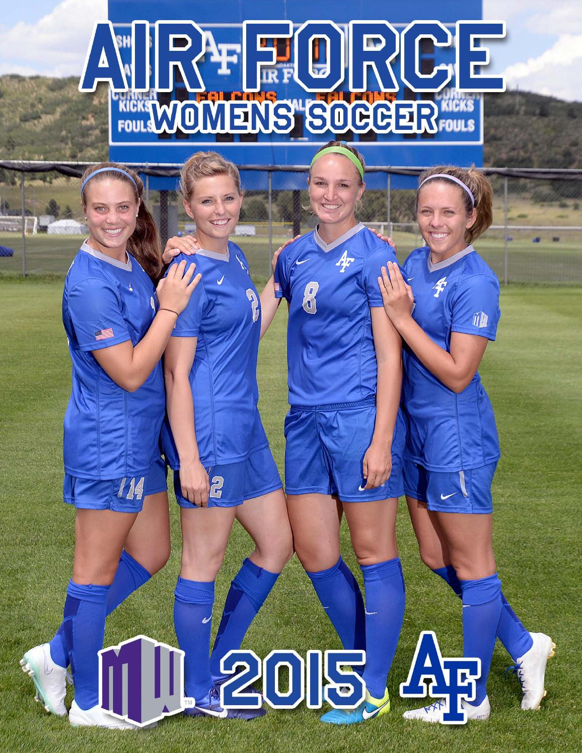 2015 Air Force Women S Soccer Media Guide By Nick Arseniak