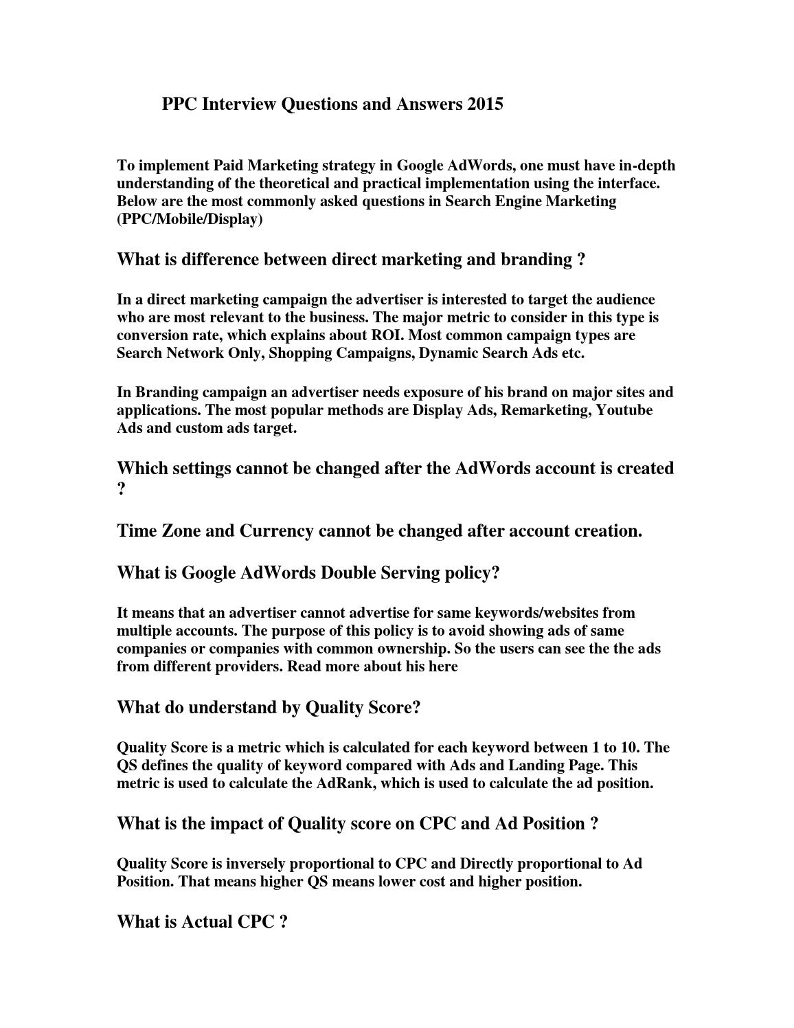 target interview questions and answers ace interview questions ...