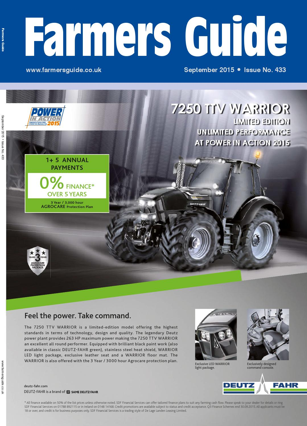 September 2015 By Farmers Guide Issuu