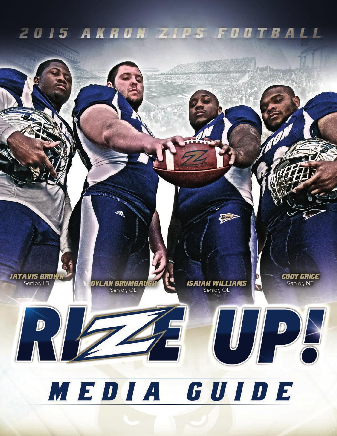 Nike jerseys for sale - 2015 Akron Zips Football Media Guide by Akron Zips - issuu
