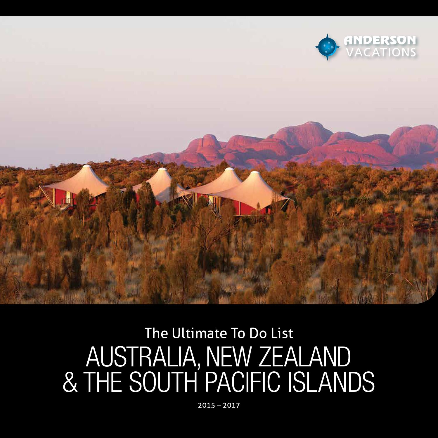 Australia South Pacific: The Ultimate To Do List Australia, New Zealand & The South