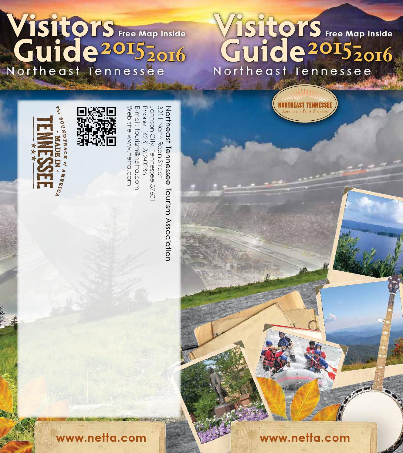 Northeast Tennessee Visitors Guide By NETTA
